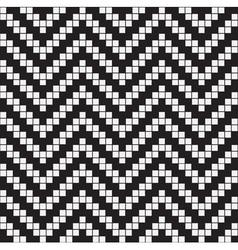 Herringbone Weave Geometric Seamless Pattern vector