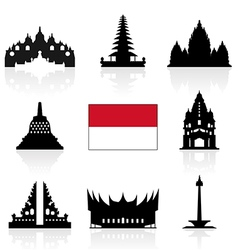 Indonesia Icon vector