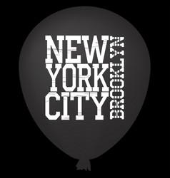 New york vintage vector