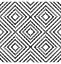 Simple geometric seamless pattern in black and vector