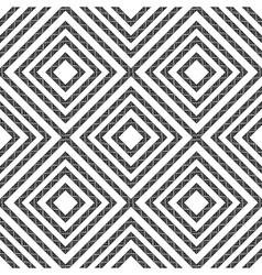 Simple geometric seamless pattern in black vector