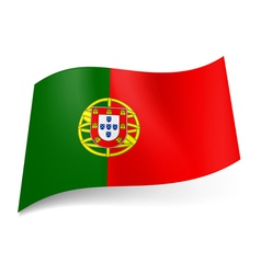 State flag of Portugal vector image