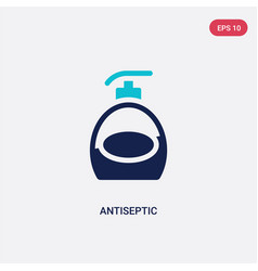 Two color antiseptic icon from hygiene concept vector