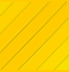 Yellow banner with line vector