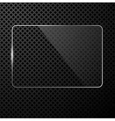 Black tech background vector image