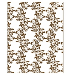 Classic royal ornament flower pattern vector image vector image