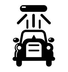 car wash icon simple black style vector image