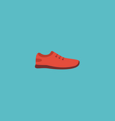 flat icon sneakers element of vector image vector image
