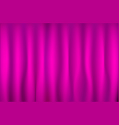 Pink curtain texture for background vector