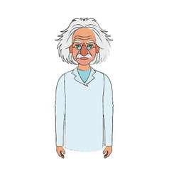 albert einstein icon image vector image