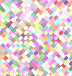 Colorful mosaic pattern background design vector image