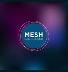 Dark indigo mesh background vector