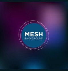 dark indigo mesh background vector image