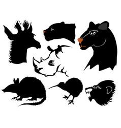 jungles vector image
