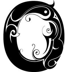 Ornamental Alphabet vector image
