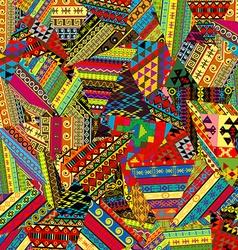 Patchwork pattern vector