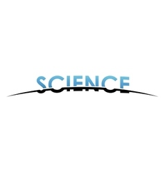 science logo design Creative science design vector image