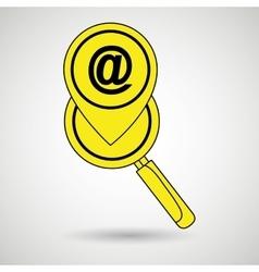 Search pin app vector
