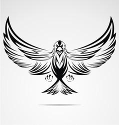 Eagle Bird Tribal vector image