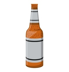 beer drink fresh isolated icon vector image