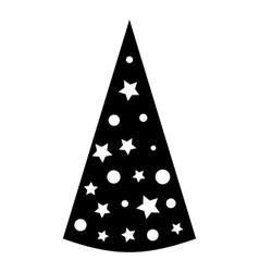 Cap icon simple style vector