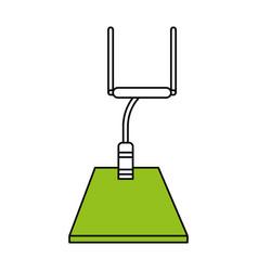 Football arch design vector