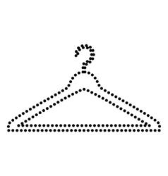 Hanger sign vector