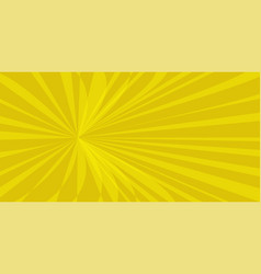 pop art sun background vector image