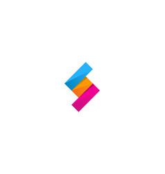 Puzzle letter s logo icon design vector