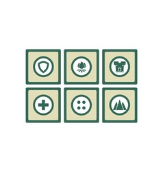 safety-icon-set vector image
