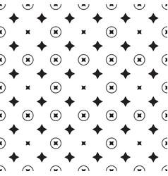 Star geometric pattern seamless vector