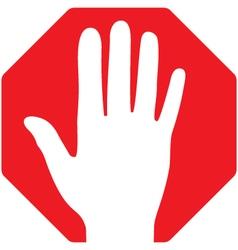 Stop-Hand vector
