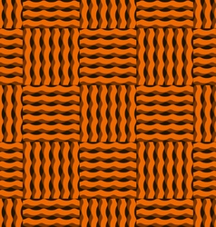 The pattern of wavy lines vector image
