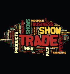 Five reasons trade show exhibits are popular text vector