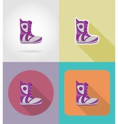 sport flat icons 30 vector image