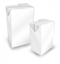 two package vector image vector image