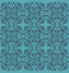 Abstract seamless wavy pattern hand drawn brush vector