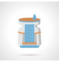 Air humidifier flat color icon vector image