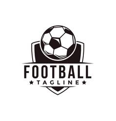 Badge football soccer sport team league logo vector