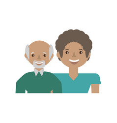 couple together lovely image vector image