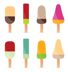 Ice cream flavour food vector