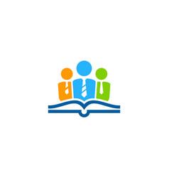 Job book logo icon design vector