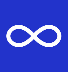 metis flag blue flag in real proportions vector image