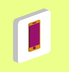 mobile gadget computer symbol vector image