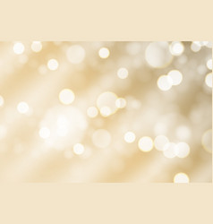party holiday background with glossy bokeh lights vector image