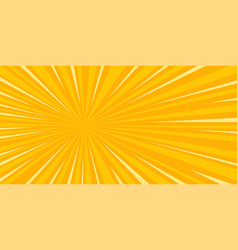 Pop art sun background vector