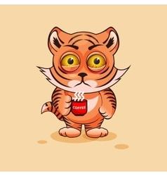 Tiger cub nervous vector