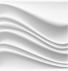 wavy silk abstract background realistic vector image