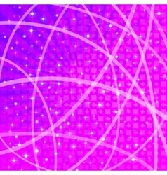 Background with Stars and Rays vector image vector image