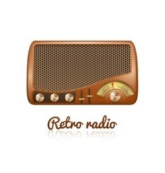 Retro Radio vector image